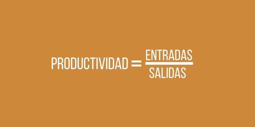 como se mide la productividad